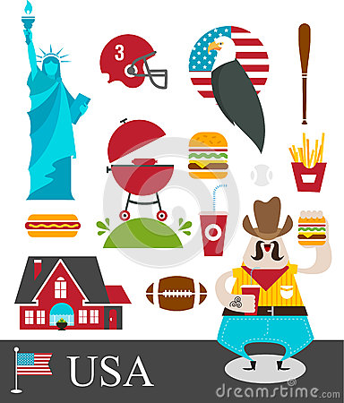 Free American Stereotypes Stock Photos - 24736393
