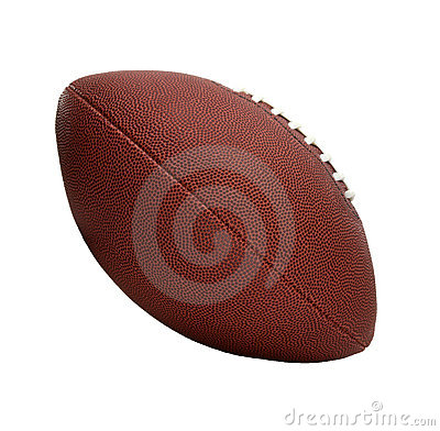 American Style Football, Tilted Side View
