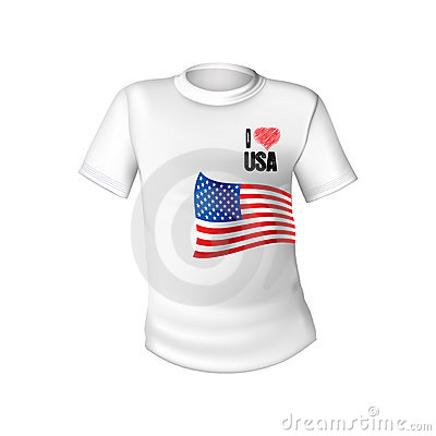 American stylish t-shirt