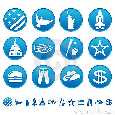 Free American Symbols Stock Photography - 10524252