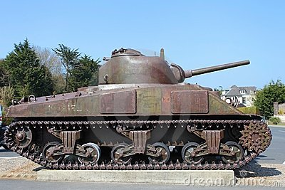 American tank from war