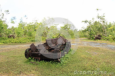 US tank from WWII