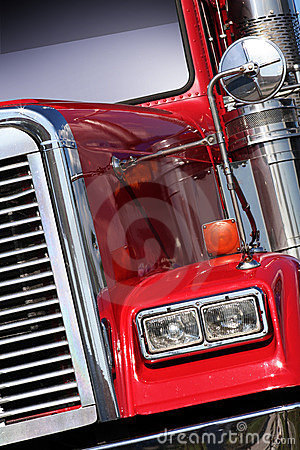 Free American Truck Royalty Free Stock Images - 10728669