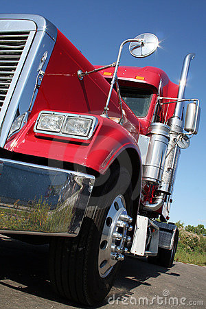 Free American Truck Royalty Free Stock Images - 10728769