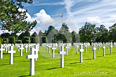 American War Cemetery at Omaha