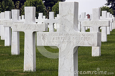 American War Cemetery - The Somme - France