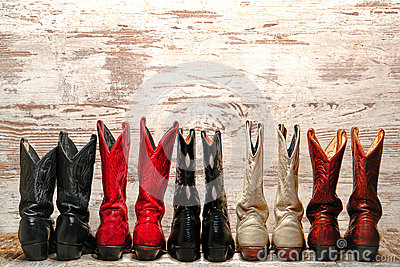 American West Rodeo Cowgirl Boots Western Line