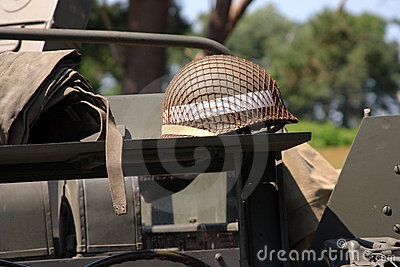 American WWII military detail