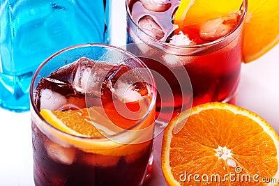 Americano & Negroni cocktail