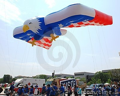 America's 2008 Independence Day parade. Editorial Stock Photo