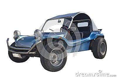 Americn car dune buggy beautiful isolated Stock Photo