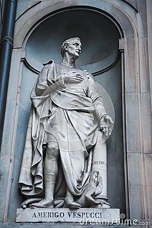 Amerigo Vespucci Statue Stock Images Image 30587694