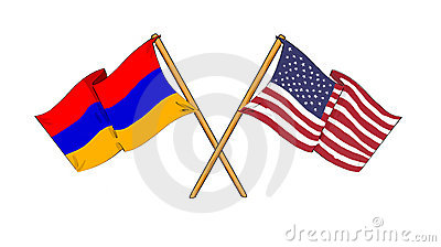 Amerikaanse en Armeense alliantie en vriendschap