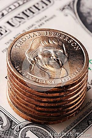 Amerikanische Dollar-Münze