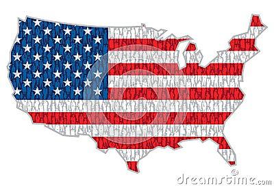 Amerikanische Leute