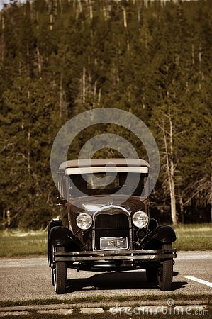 Amerikanischer Oldtimer