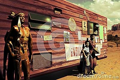 Amerikanischer Ureinwohner heute