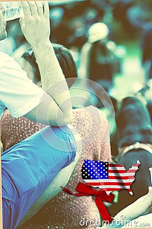Amerikanisches Festival von Jugend