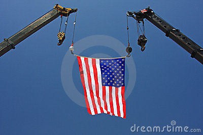 Amerikansk kranflagga