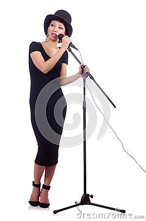 Amerykanina żeński piosenkarz