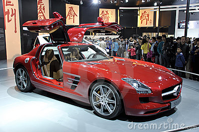 AMG SLS Editorial Stock Image