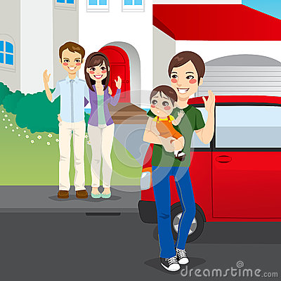 Amicably Divorced Family