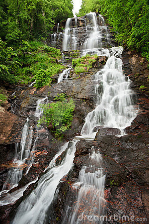 Free Amicalola Waterfall Royalty Free Stock Image - 14775126