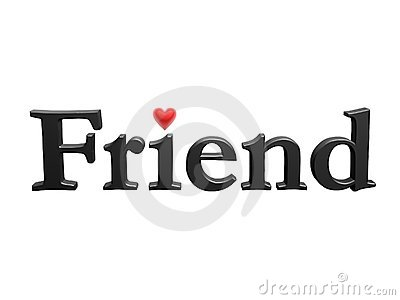 Amigo con el corazón del amor