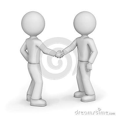 Amis se serrant la main photos libres de droits image 25874518 - Dessin 2 mains ...