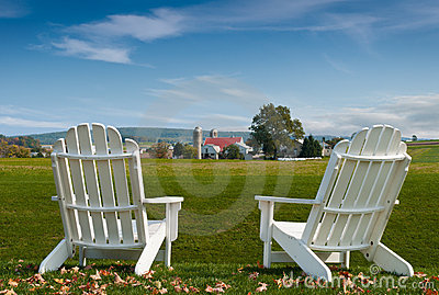 Amish Country Adirondack Chairs