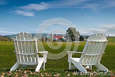Amish Country Adirondack Chairs