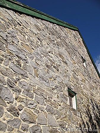 Amish Stone Barn