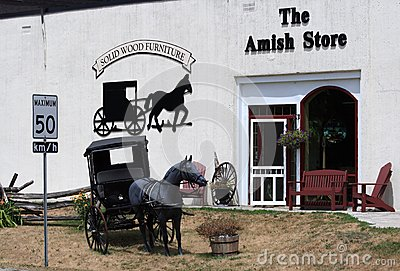 Amish Store In Balderson Editorial Photography Image 25904777