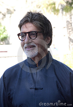 Free Amitabh Bachchan In DIFF In Dubai Royalty Free Stock Photos - 12122068