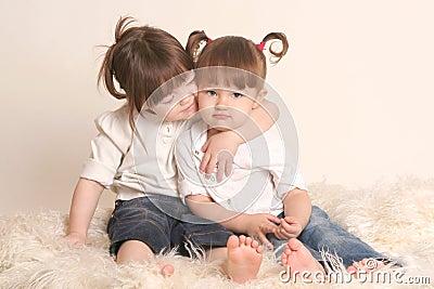 Amizade das crianças