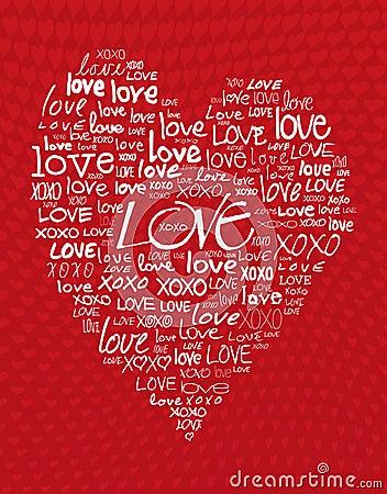 Amor escrito en diverso cursivo foto de archivo imagen for Fondos de escrito