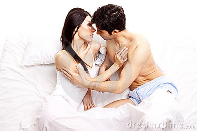 Amorous Young Couple