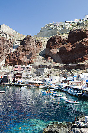 Amoudi bay oia santorini greek island