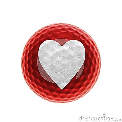 Amour de golf