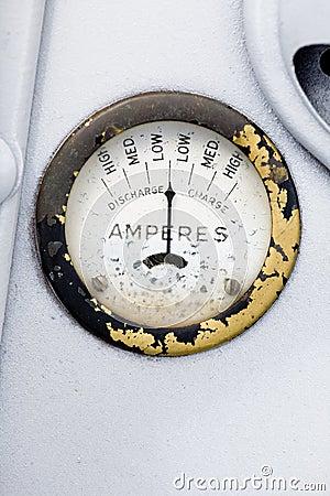 减速火箭amp的测量仪