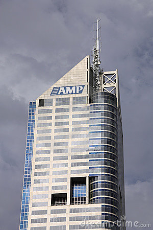 AMP building, Melbourne Editorial Stock Image