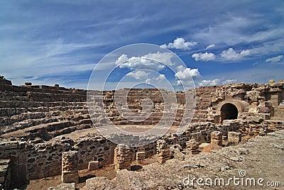 Amphiteatre on Sardinia