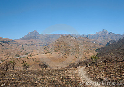 Amphitheater Drakenberg Mountains