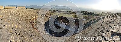 Amphitheater in hierapolis, Pamukkale
