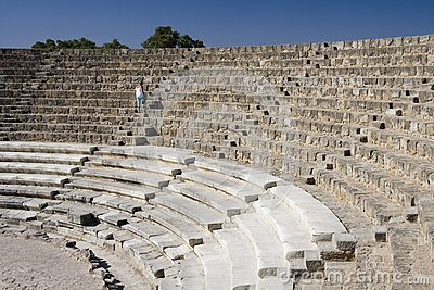 Amphitheater at Salamis - Turkish Cyprus