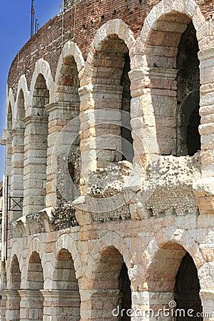 Amphitheatre Arena in Verona, Italy