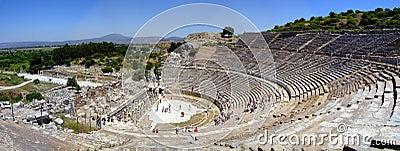 Amphitheatre d Ephesus