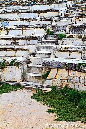Amphitheatre in Ephesus.