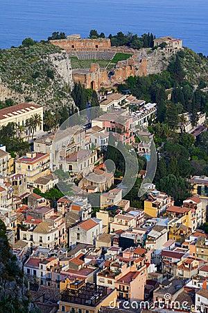 Free Amphitheatre In Sicily Stock Image - 2385701