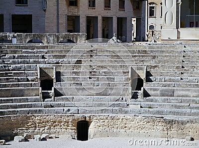 Amphitheatre in Lecce